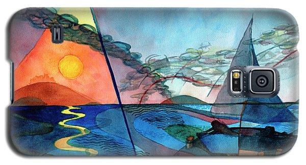 Dusk Over The Chesapeake Galaxy S5 Case
