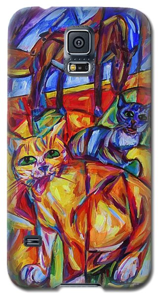 Dusk Time Gathering Galaxy S5 Case by Dianne  Connolly