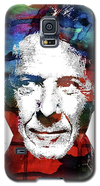 Dustin Hoffman Galaxy S5 Case by Mihaela Pater