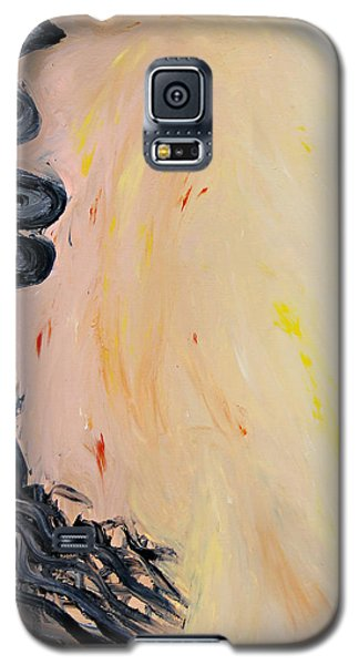 Galaxy S5 Case featuring the painting Dusty Road by Lola Connelly