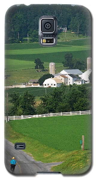 Dutch Country Bike Ride Galaxy S5 Case
