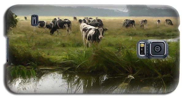 Dutch Cows Galaxy S5 Case by Jan Daniels