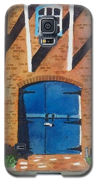 Galaxy S5 Case featuring the painting Dutch Door by LeAnne Sowa