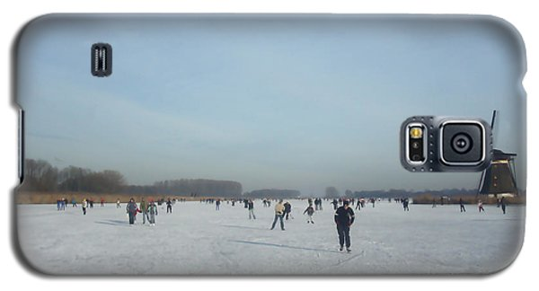 Dutch Winter Landscape Galaxy S5 Case by Jan Daniels