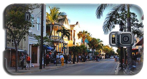 Duval Street In Key West Galaxy S5 Case by Susanne Van Hulst