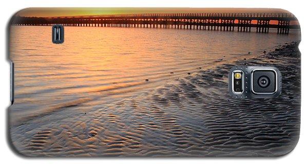 Duxbury Beach Powder Point Bridge Sunset Galaxy S5 Case