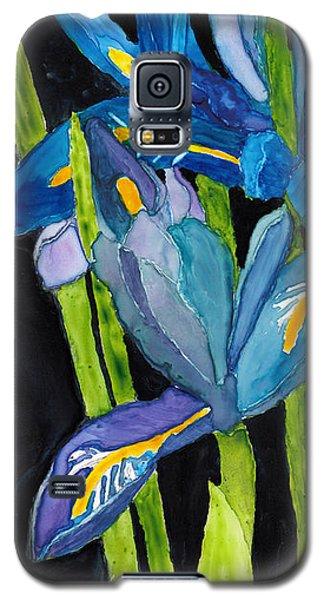 Dwarf Iris Watercolor On Yupo Galaxy S5 Case