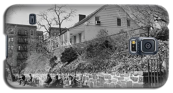Galaxy S5 Case featuring the photograph Dyckman Farmhouse  by Cole Thompson