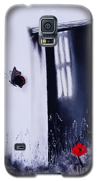 Galaxy S5 Case featuring the painting Dying Is Easy by Stanza Widen