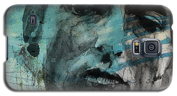 Dylan - Retro  Maggies Farm No More Galaxy S5 Case by Paul Lovering