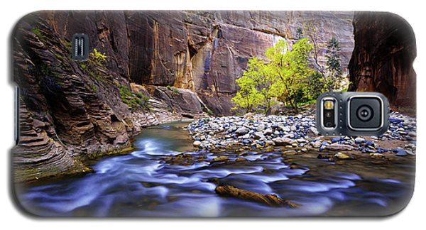 Galaxy S5 Case featuring the photograph Dynamic Zion by Chad Dutson