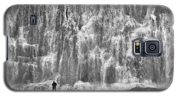 Galaxy S5 Case featuring the photograph Dynjandi Daredevil No. 2 by Joe Bonita