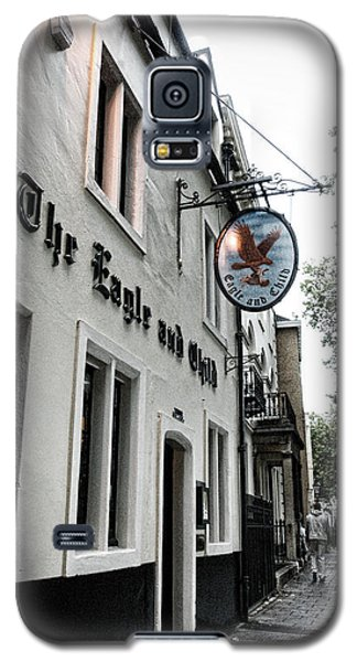 Eagle And Child Pub - Oxford Galaxy S5 Case by Stephen Stookey