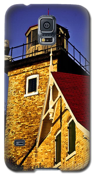 Eagle Bluff Lighthouse Of Door County Galaxy S5 Case