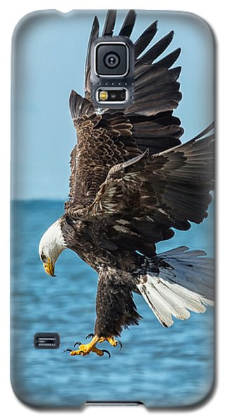 Eagle Dive Galaxy S5 Case by CR  Courson
