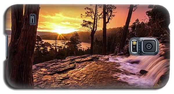 Eagle Falls Sunrise Galaxy S5 Case