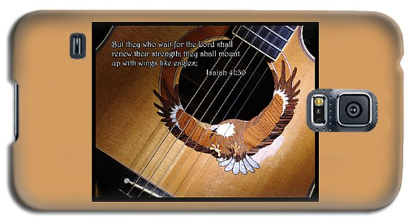 Eagle Guitar Galaxy S5 Case by Jim Mathis