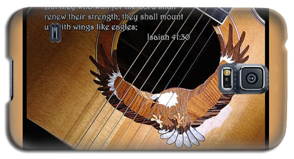 Galaxy S5 Case featuring the photograph Eagle Guitar by Jim Mathis