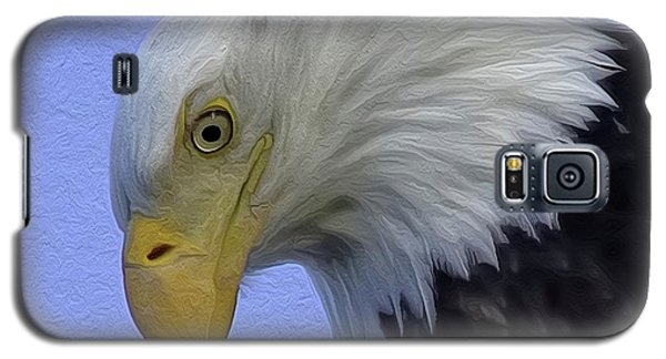 Eagle Head Paint Galaxy S5 Case