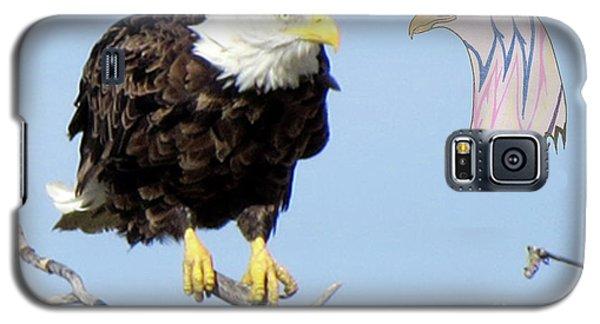 Eagle Reflection Galaxy S5 Case