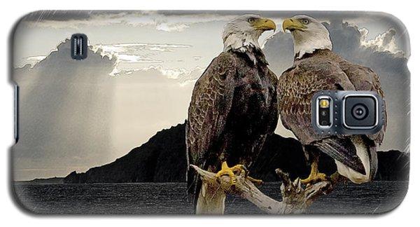 Eagles At Dawn  Galaxy S5 Case