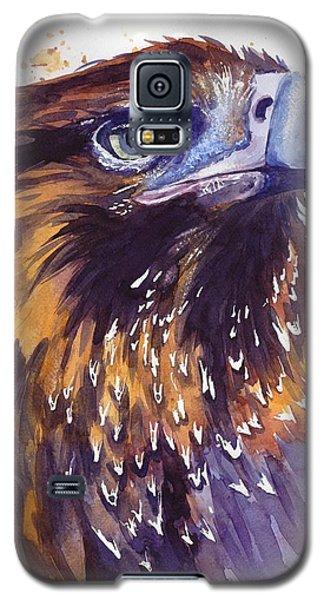 Hawk Galaxy S5 Case - Eagle's Head by Suzann's Art