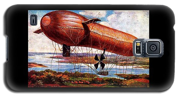 Early 1900s Military Airship Galaxy S5 Case by Peter Gumaer Ogden