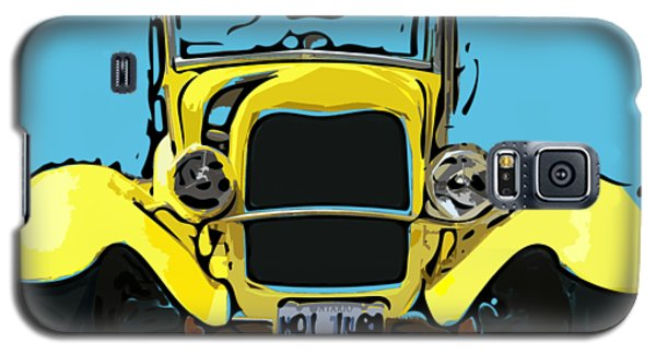 Early 1930s Ford Yellow Galaxy S5 Case