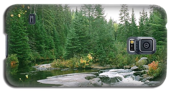 Early Autumn On The Madawaska River Galaxy S5 Case