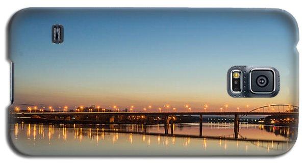 Early Evening Bridge At Sunset Galaxy S5 Case