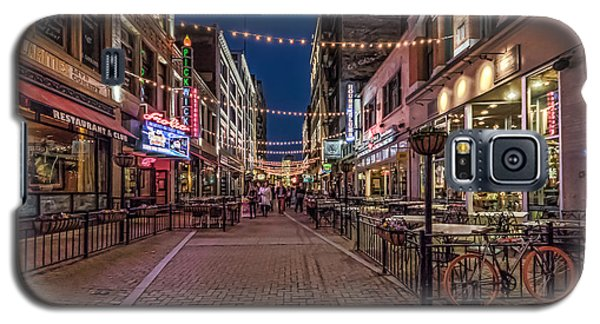 Galaxy S5 Case featuring the photograph Early Evening On E. 4th by Brent Durken