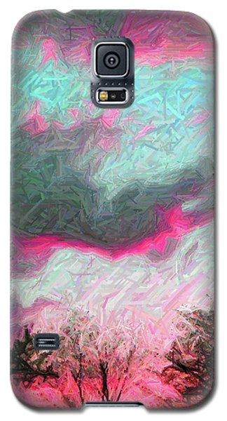 Galaxy S5 Case featuring the photograph Early Evening by Susan Carella