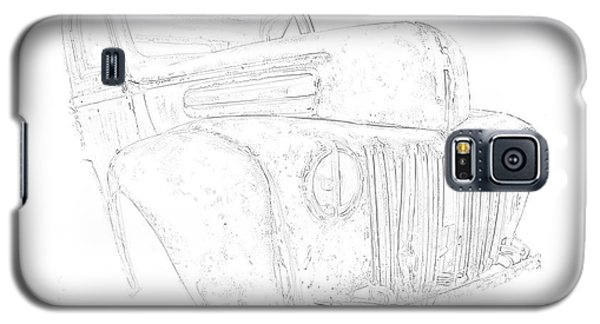 Early Ford Truck Galaxy S5 Case