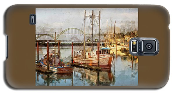 Early Light On Yaquina Bay Galaxy S5 Case