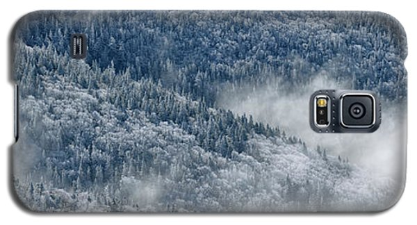 Galaxy S5 Case featuring the photograph Early Morning After A Snowfall by Sebastien Coursol