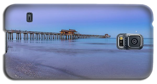 Early Morning At Naples Pier Galaxy S5 Case