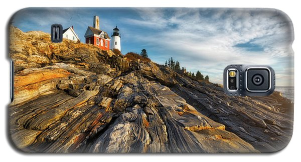 Galaxy S5 Case featuring the photograph Early Morning At Pemaquid Point by Darren White