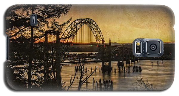 Early Morning At The Yaquina Bay Bridge  Galaxy S5 Case