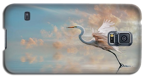 Early Morning Egret Galaxy S5 Case by Brian Tarr