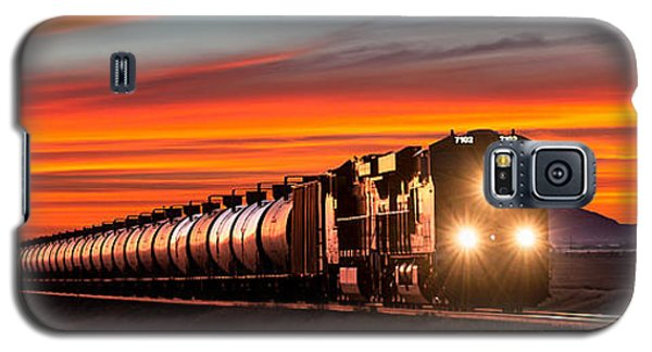 Train Galaxy S5 Case - Early Morning Haul by Todd Klassy