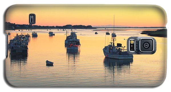 Galaxy S5 Case featuring the photograph Early Morning In Chatham Harbor by Roupen  Baker