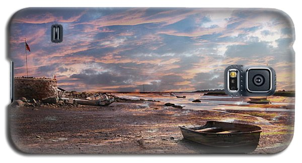 Early Morning Low Tide On The North Shore Galaxy S5 Case