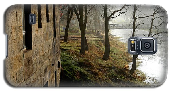 Early Morning Mist On The I  M Canal Galaxy S5 Case