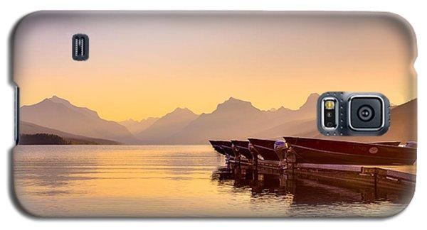 Early Morning On Lake Mcdonald Galaxy S5 Case