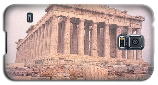 Galaxy S5 Case featuring the photograph Early Morning Parthenon by Nigel Fletcher-Jones