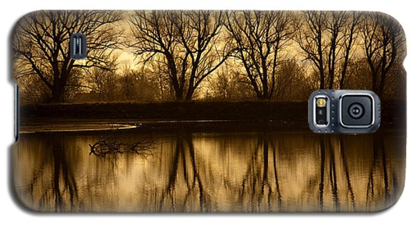 Early Morning Reflections Galaxy S5 Case