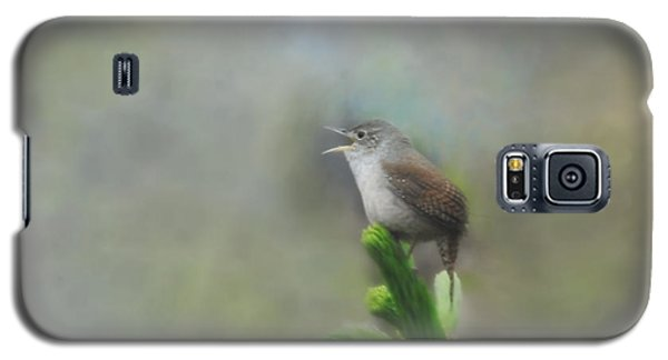 Galaxy S5 Case featuring the photograph Early Morning Songbird by Brenda Bostic