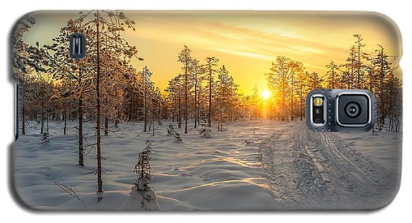Early Morning Sun Galaxy S5 Case by Rose-Maries Pictures
