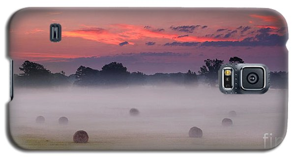 Early Morning Sunrise On The Natchez Trace Parkway In Mississippi Galaxy S5 Case
