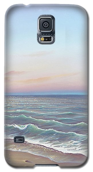 Early Morning Waves Galaxy S5 Case